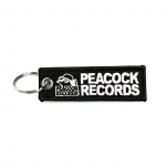 Peacock Records Keychain
