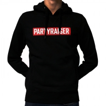 Partyraiser Logo Hooded Black
