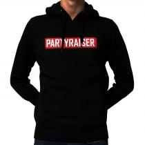 Partyraiser Logo Hooded Black
