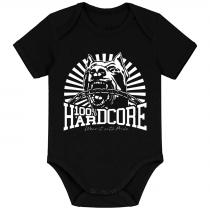 100% Hardcore Baby Romper Classic