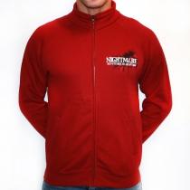 Red Nightmare jacket with zipper