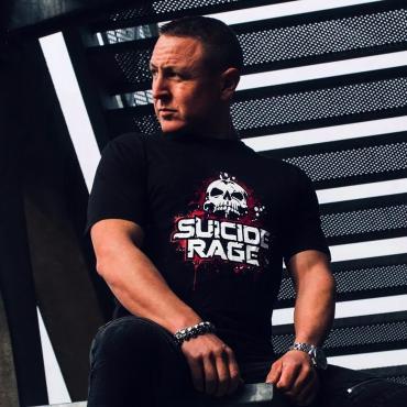 Suicide Rage front back short sleeve