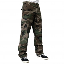 Army Pants Ripstop Woodland