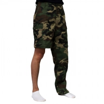 Army Zip Off Pants Woodland