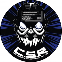 CSR 20 Years picture disc *limited* Free CSR poster and Sticker!