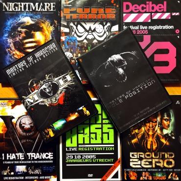 Hardcore DVD pack