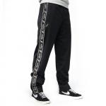 Australian pants zwart met zwarte bies