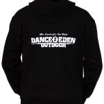 Dance 2 Eden, Hooded zipper black, XXL