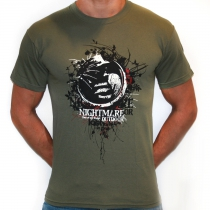 Army Green Nightmare Forest T-shirt