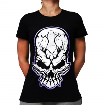 F. Noize lady shirt Purple Logo