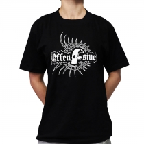 Offensive Hardcore 'Web' t-shirt only size S