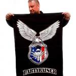 Partyraiser Eagle flag -100 cm x 70c m