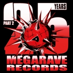 PRE ORDER includes Megarave sticker!! 25 Years Megarave Records - Part 2 - 4CD