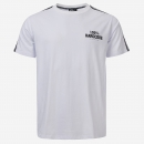100% Hardcore T Shirt United Sport White