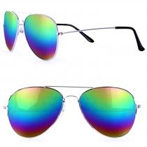 Pilot glasses oil rainbow