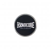 100% Hardcore Pin - Logo