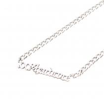 100% Hardcore Necklace Logo