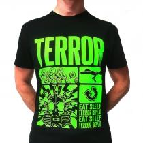 SRB Eat Sleep Terror Repeat Fluor Green t-shirt 2021