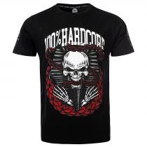 100% Hardcore T Shirt Dead Kings