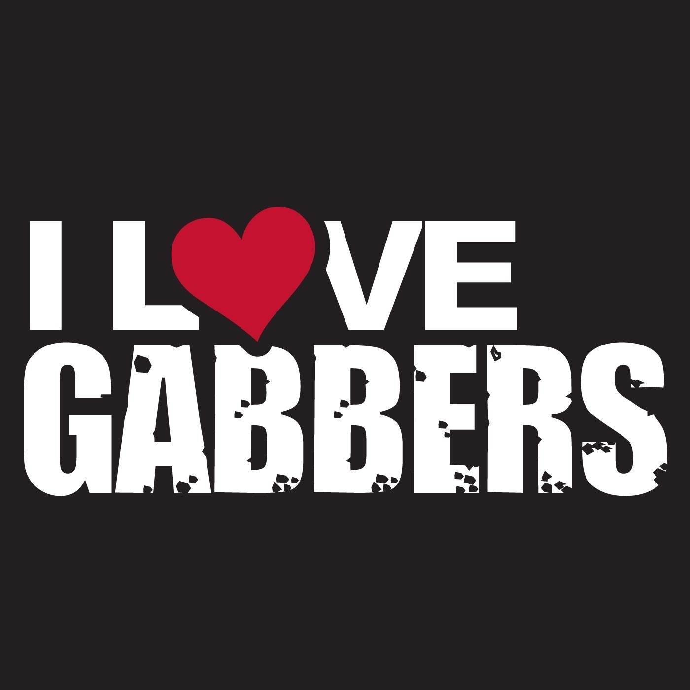 I Love Gabbers Sticker Ilovegabstick Sticker Rigeshop