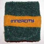 Green/yellow Innercity wristband