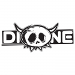 Dione sticker small