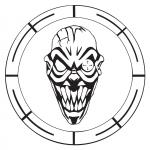 CSR Round logo sticker medium