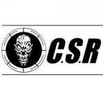 CSR sticker, white, print black, 35x 11.5cm