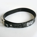 Black Sullen collage belt (leather-like)