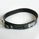 Black Sullen collage belt (leather-like)