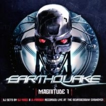 Earthquake mixed by Dj Vince - 2CD