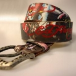Ed Hardy strap (riem) brown
