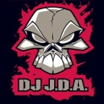 JDA Sticker Black Red