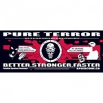 CSR Sticker Black / Red - Better stronger faster