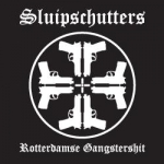 Sluipschutters gangster sticker - small