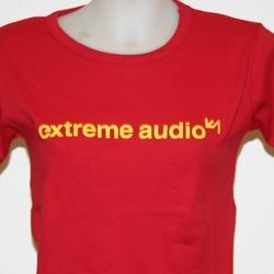 Extreme Audio shortsleeve red - one size