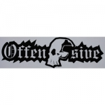 Offensive Carstick. Trans/black Small