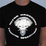 Ultra hardcore terror speedcore lady shirt