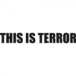 Terror Tattoo Text Fat Letters