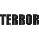 Terror Tattoo Text Fat Letters