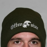 Offensive Woolly Hat Olive