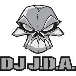 Dj JDA sticker - 13 x 14,5 (JDASTICKSQW) Sticker - Rigeshop