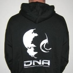 DNA Hooded Printed