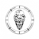CSR tattoo - big logo (7cm x 7cm)